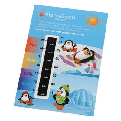 Image of 125Mmx85Mm Thermometer Gauge Card