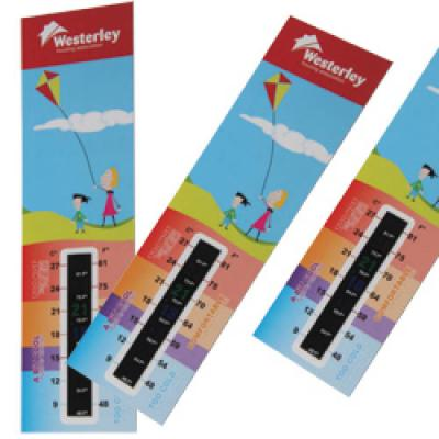 Image of Thermometer Gauge Bookmark