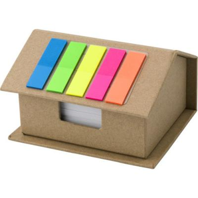 Image of House-shaped card memo holder.