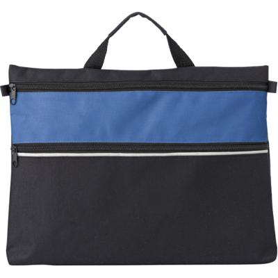 Image of Polyester 600D document bag.