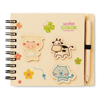 Image of Children S Notepad With Pencil
