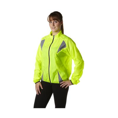Image of Nylon (190T) fluorescent runners jacket.
