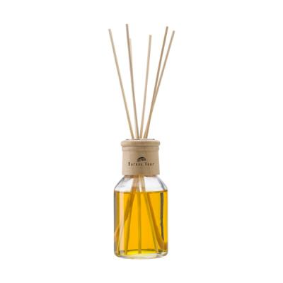 Image of Reed diffuser with one 100ml glass bottle of vanilla fragrance