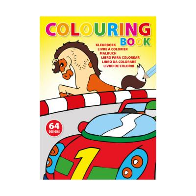 Image of A4 Colouring book with 64 designs on 32 x 250gsm pages