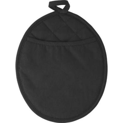 Image of Neoprene oval shaped oven glove.