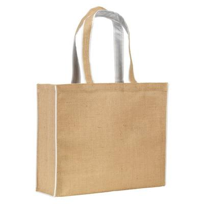 Image of Davington Jute Tote Bag