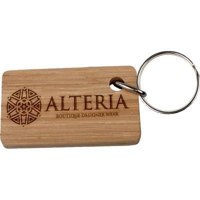Image of Real Wood Keyring