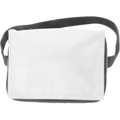 Image of Polyester (420D) cooler bag suitable for six cans