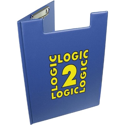 Image of A4 Folder Clipboard - Royal Blue
