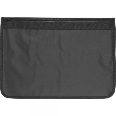 Image of Nylon Document Wallets - All Black