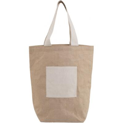 Image of Jute beach bag