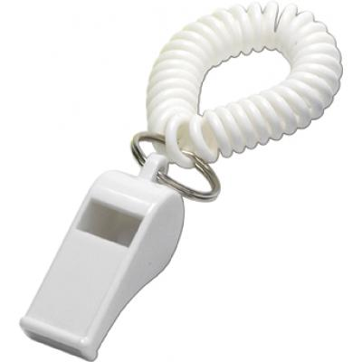 Image of Whistle with wrist cord