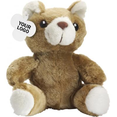 Image of Teddy bear in a plush material