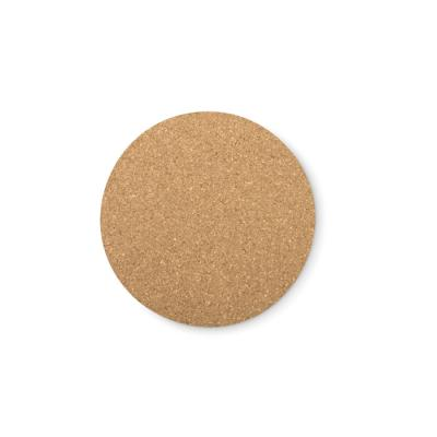 Image of Cork coaster round