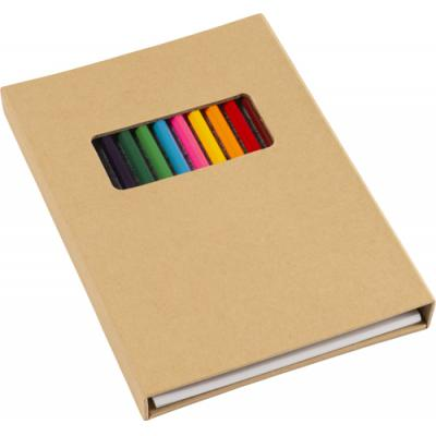 Image of Cardboard colouring folder