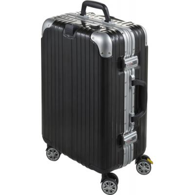 Image of ABS+PC luggage trolley with aluminium frame