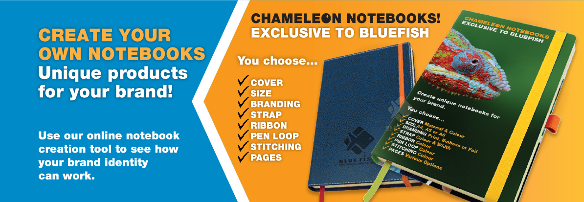 Custom made promotional notebooks